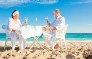 Hochzeits Jubiläum wird auch bei alteren Ehepaaren gefeiert
